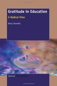 Gratitude Book cover - Education: A Radical View